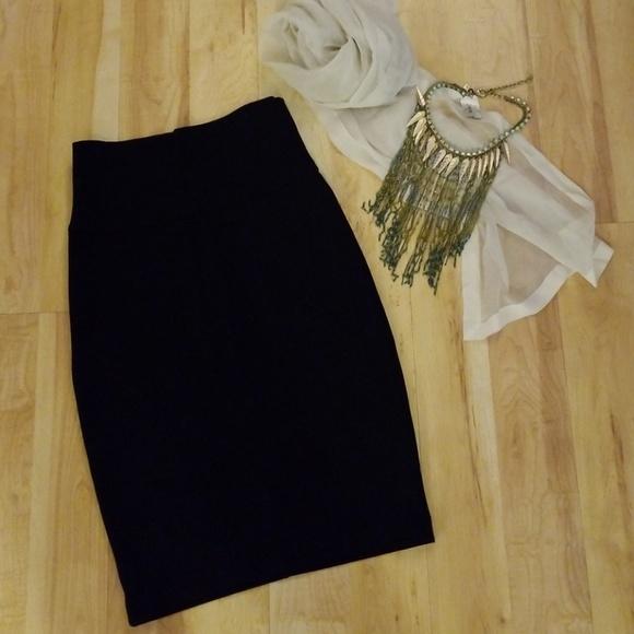 5e08f06d4 James Perse Skirts   Black Pencil Skirt   Poshmark